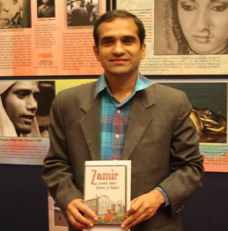 National Film Archive of India Director Holds Zamir DVD