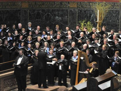 Trinity Choirs and Zamir