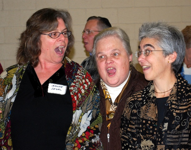 Jeanne Segal, Leila Joy Rosenthal and Johanna Ehrmann
