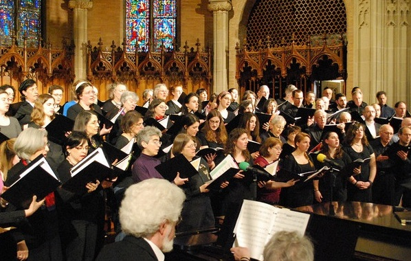 Hebrew College choirs and Zamir March 2010