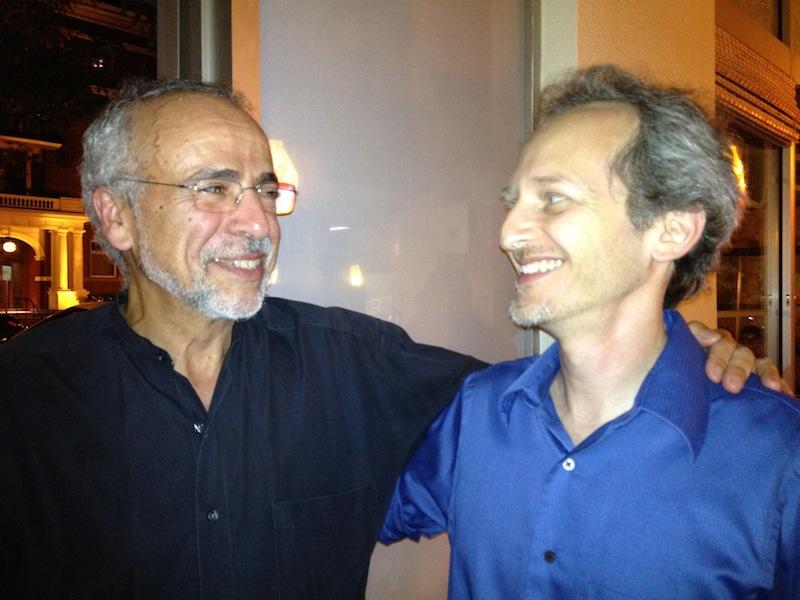 JJ with composer Ken Lampl