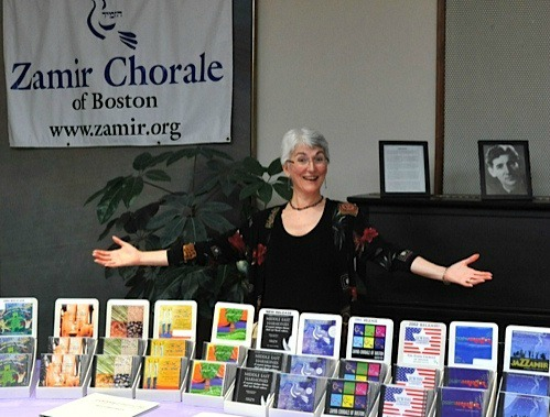 Ronda Jacobson selling Zamir CDs