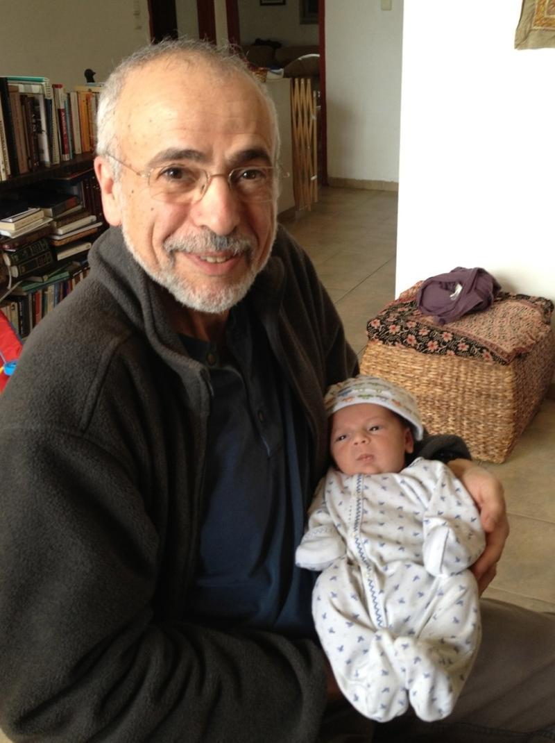 Josh and baby Ziv