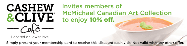 Cashew and Clive Cafe invites members of McMmichael to enjoy 10% off