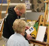 Painting Studio - Beginner Class, with Lorne McDermott