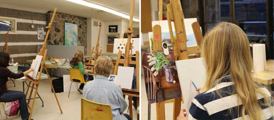 Painting Studio, Intermediate Class with Lorne McDermott