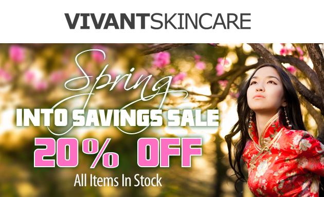 Spring into Savings - 20% OFF Monday 03.25.13