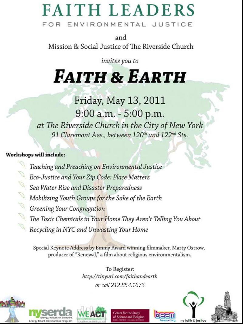 Faith Leaders Summit - May 2011