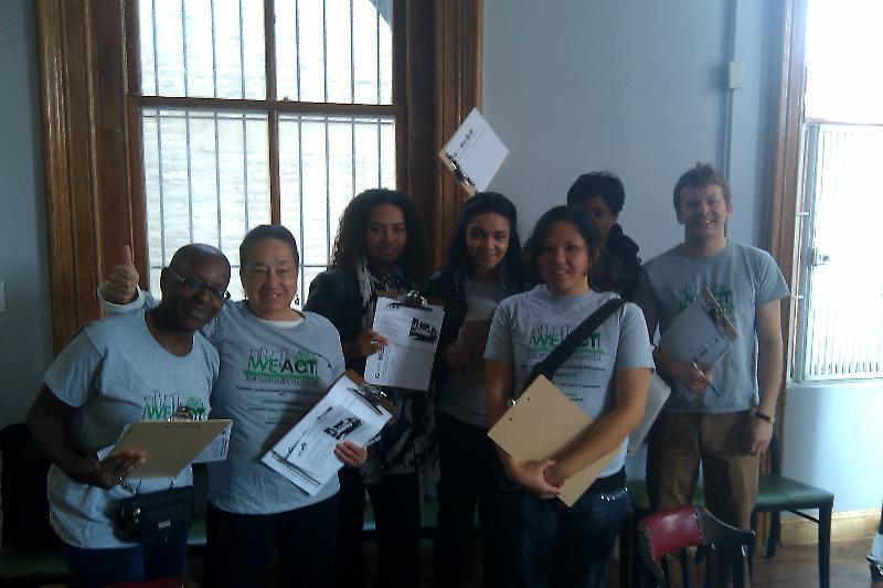 TRAC Members About to go Petitioning