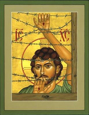 Christ of Maryknoll Lenz Icon