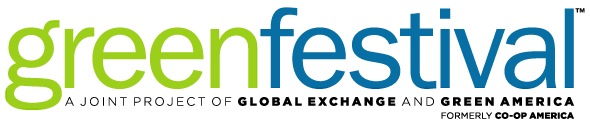 Green Festival Logo - Two Part Color