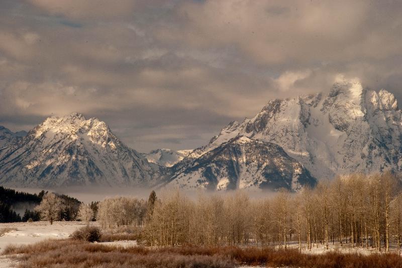 Mount Moran in Wyoming