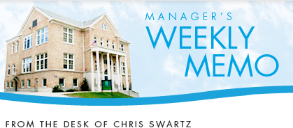Manager's Weekly Memo