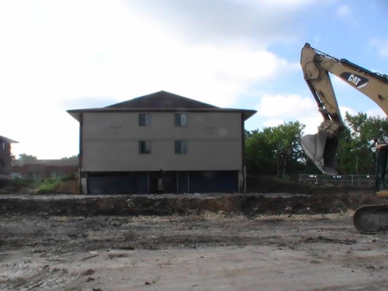 Sherburn Place building demolition