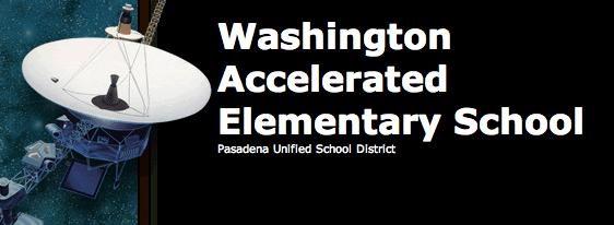 Washington Accelerated Elementary Logo