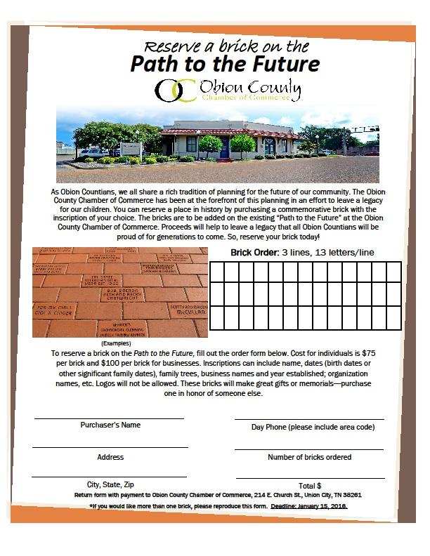 Obion County Chamber of Commerce February 2016 Newsletter