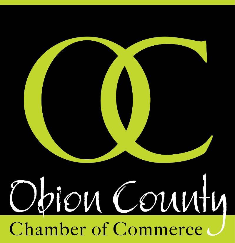 OC Chamber Logo - Black