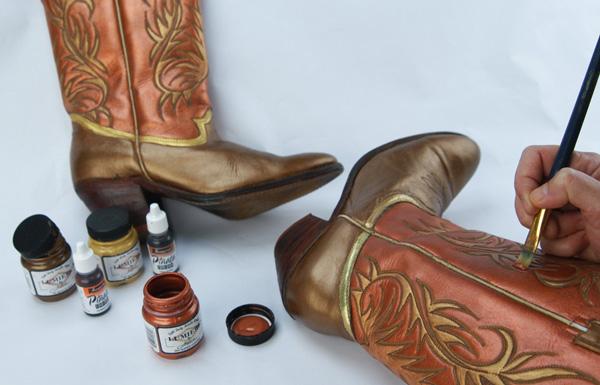 Lumiere Cowboy Boots process