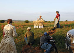 Shooting of agriculture scene