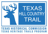 Logo for the Texas Hill Country Trail Region