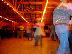 Photo of people dancing at Luckenbach Dance Hall