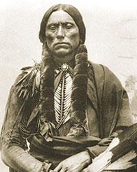 Historic photograph of Chief Quanah Parker