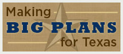 Logo for the Texas Historical Commission Statewide Plan