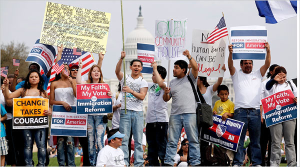 Immigration reform march