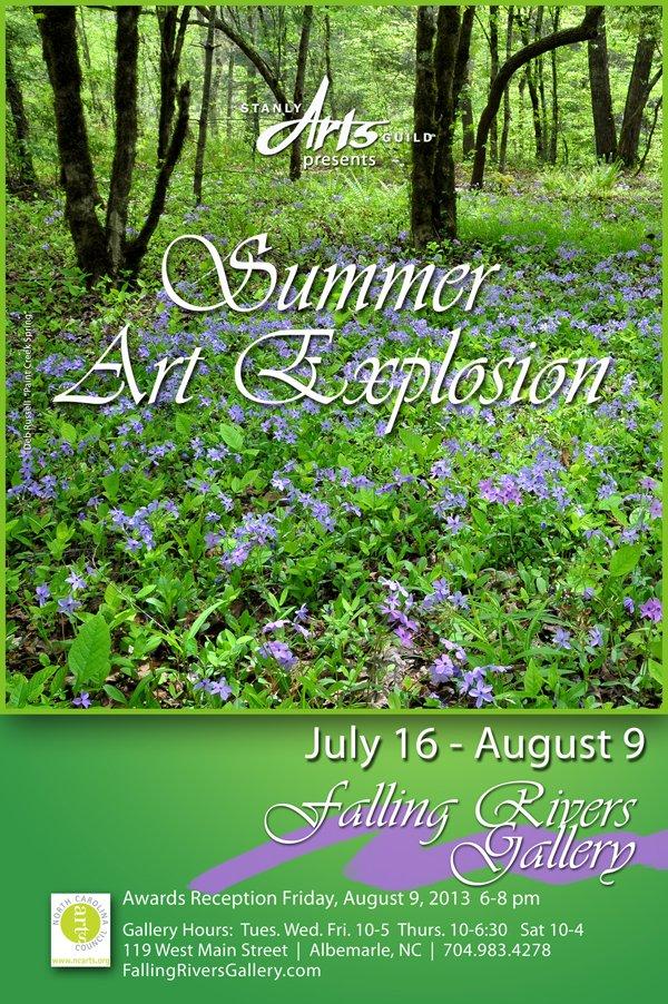 Summer Art Explosion 2013