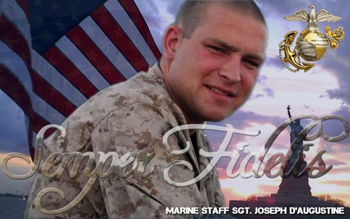 Marine Staff SGT. D'Augustine
