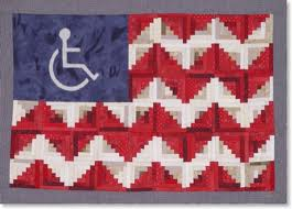 flag people with disabilities