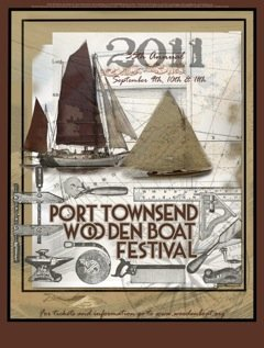 Wooden Boat Festival Poster 2011