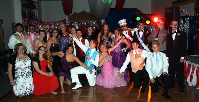 STUD team at prom