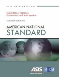 American National Standard ASIS/SHRM