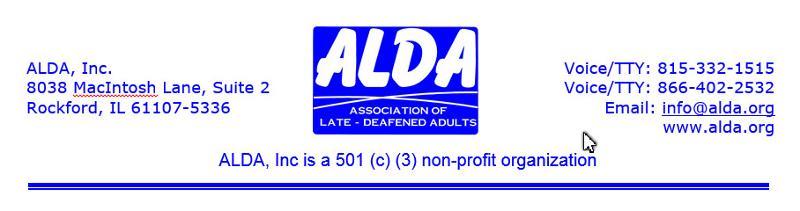 ALDA Letterhead Header