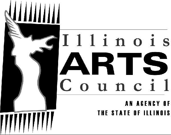 Illinois Arts Council Logo: Hybrid Muse