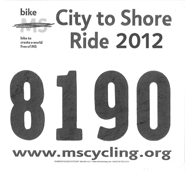 CTS Rider Number