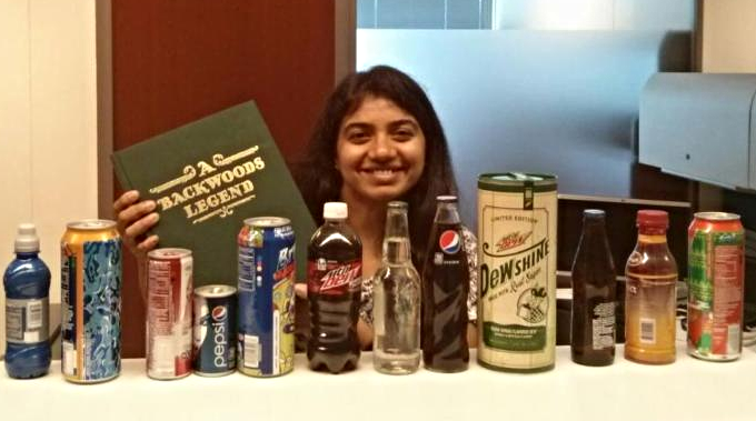 2015 Pepsico Tauber Team Member Lavanya Divi _MSCM _15_ picked up some product history while solving supply chain problems for PepsiCo.