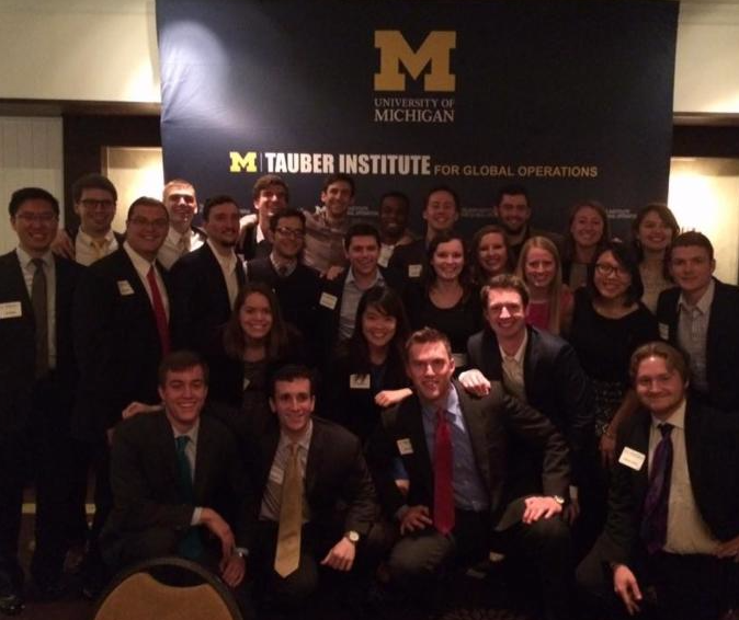 Tauber EoY Celebration Dinner 2016 EGL students 2015 _ 2016 projects