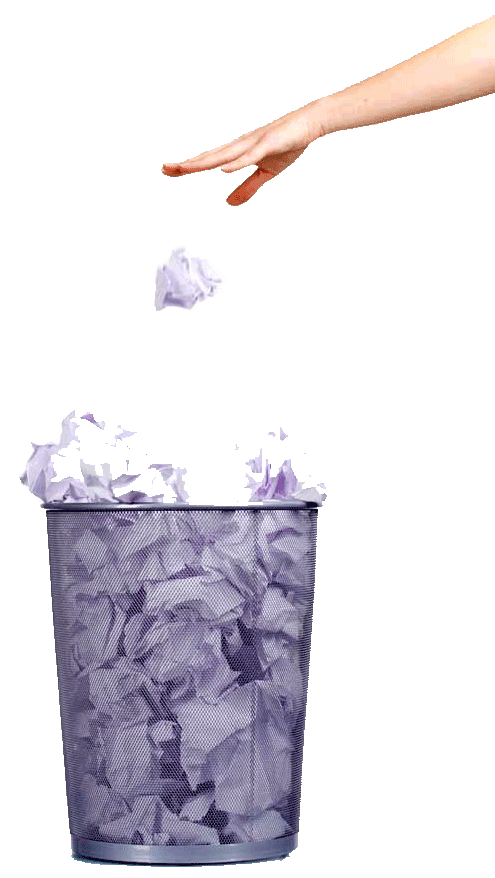 Tossing Out the Garbage