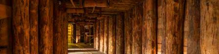 Wooden Mine Shaft