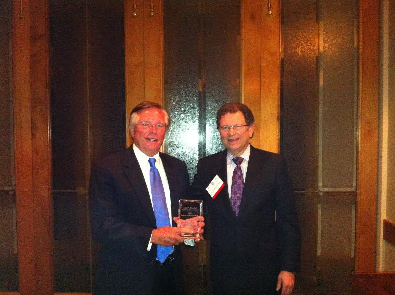 Ron Woods receives Inns of Court Award