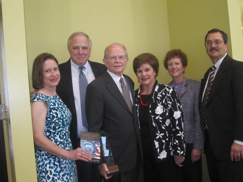 John Clark and family