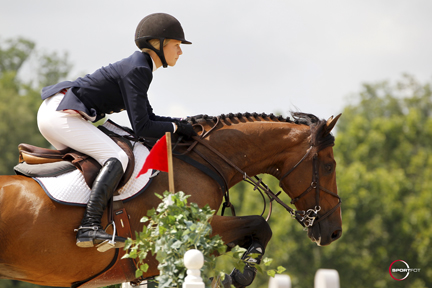 Zone 2 Gold Medal winner Lillie Keenan