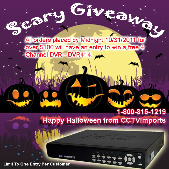Halloween Free DVR Giveaway