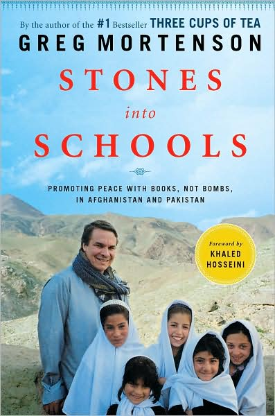 Stones into Schools Book Cover - Enable Images