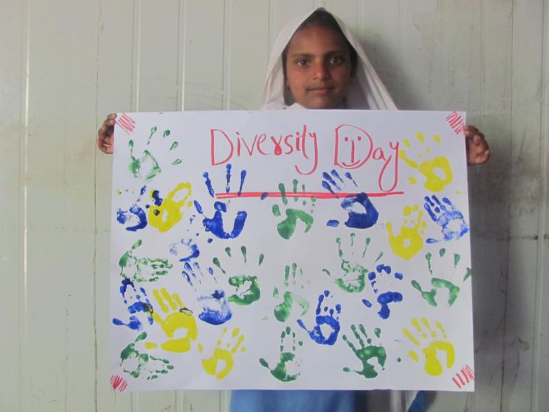 Diversity Day sign