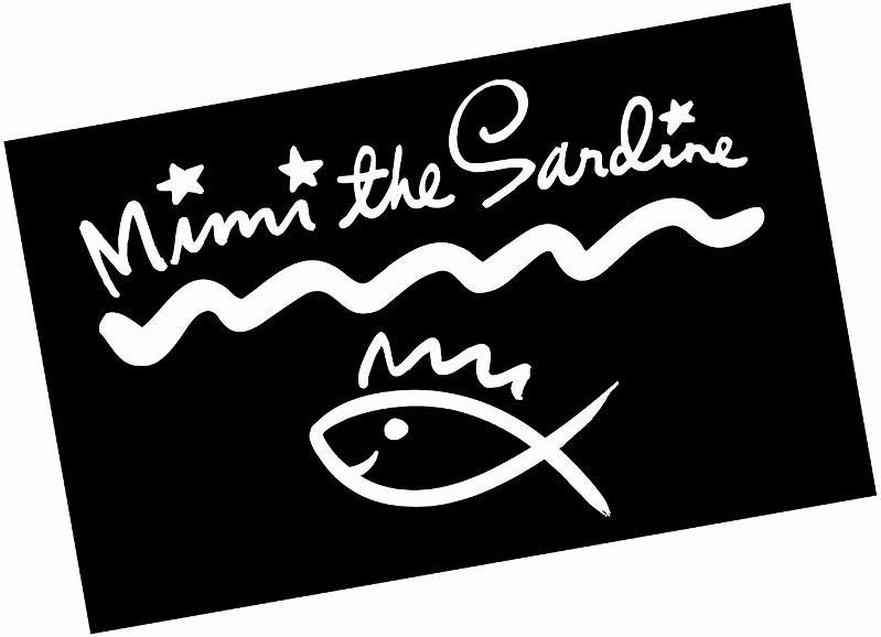 Mimi the Sardine Logo