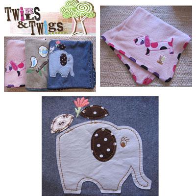Twirls & Twigs Blankets