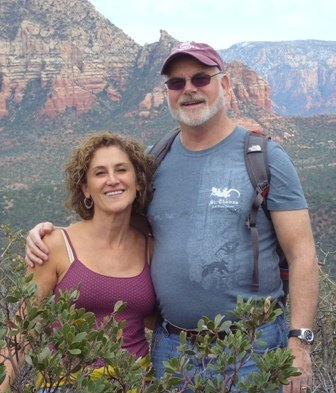 Sandie and Gerry in Sedona